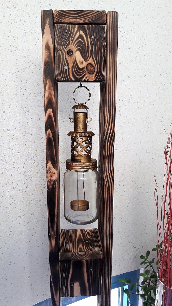 Holz Deko Aus Alten Paletten Windlichter Holzkisten Teelichter Weinregale